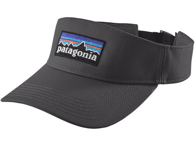 Patagonia P-6 Logo Visor Forge Grey